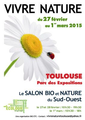 Salon sant naturelle for Salon bio toulouse